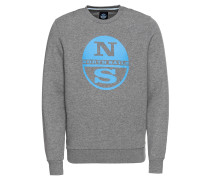 Sweatshirt 'round Neck W/graphic'