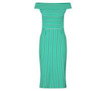 Kleid 'Iris' bej / verde
