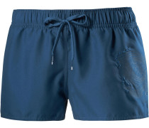 'Evidence' Badeshorts Damen blau