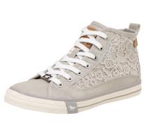 Sneaker 'Macrame' hellgrau