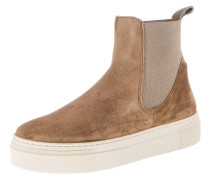 Stiefelette 'Marie' chamois / offwhite