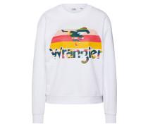 Sweatshirt '80´s Retro Sweat' weiß