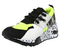Sneaker 'clif' grün / schwarz