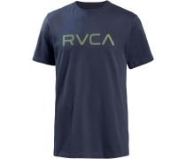 T-Shirt 'big ' blau