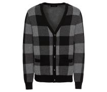 Softer Cardigan grau / schwarz