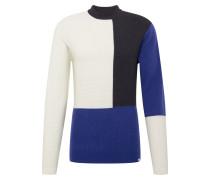 Pullover dunkelblau / schwarz / weiß