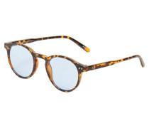 Sonnenbrille schoko / honig