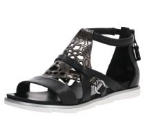 Sandale 'katana' schwarz