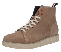 Stiefel 'suede Wedge MID Boot' sand