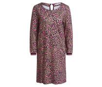 Kleid braun / pink