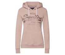 Sweatshirts gold / rosa
