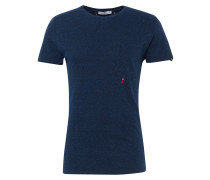 T-Shirt 'Sverre printed t' navy