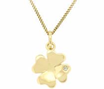 jewels Kettenanhänger »Kleeblatt« gold