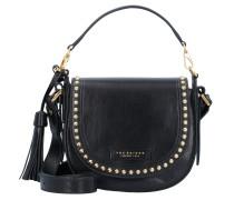 'Rock' Handtasche Leder 21 cm schwarz
