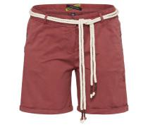 Shorts 'kiki' dunkelrot