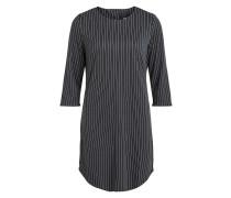 Kleid dunkelgrau / weiß