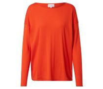 Pullover 'lada' orangerot