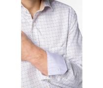 Langarm Hemd Comfort FIT lila