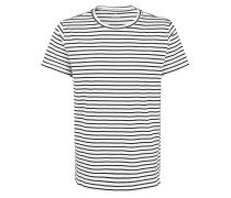 T-Shirts schwarz / ecru