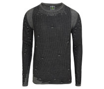 Pullover 'mst Club round' anthrazit