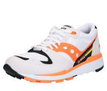 Sneaker 'Azura' orangerot / schwarz / weiß