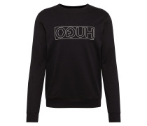 Sweatshirt 'Dicago-U6' schwarz