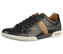 Sneaker nachtblau / bronze / weiß