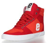 Sneaker 'Hiro 18' rot / orangerot / weiß