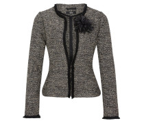 Blazer-Jacke in Bouclé-Optik