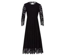 Kleid 'Lacedress Fit & Flare' schwarz