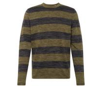 Pullover dunkelgrün / schwarz