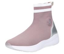 Sneaker 'Malou' altrosa / silber / weiß