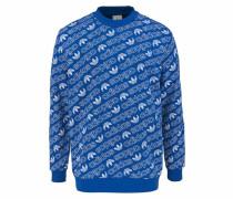 Sweatshirt 'aop Crew' blau