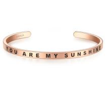 Armband mit YOU ARE MY SUNSHINE-Schriftzug