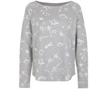 Sweater Fleece Cosmos Print