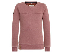 Sweatshirt 'Daisy' bordeaux