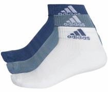 Sportsocken blau / weiß