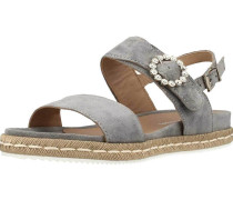 Sandalen/Sandaletten grau