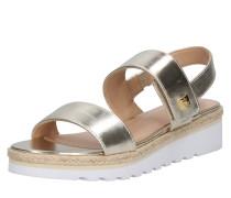 Sandale 'jewelle' silber