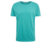 T-Shirt 'Roger Slub' türkis