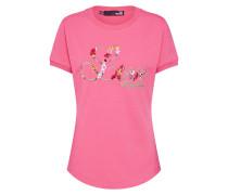Shirt 'maglietta M/corta C/ricamo Love'