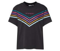 T-Shirt 'Rainbow' anthrazit / mischfarben