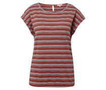 T-Shirt mischfarben / hellrot