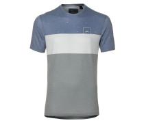Yardage T-Shirt blau / grau / weiß