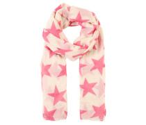 Schal 'Fine Twilight' beige / pink