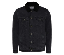 Jeansjacke 'frank' black denim