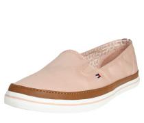 Slipper 'Kesha' braun / rosa / weiß