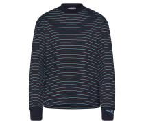 Shirt 'Astrid' hellblau / schwarz