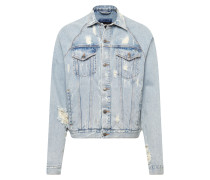 Jacke 'Brooks' blue denim
