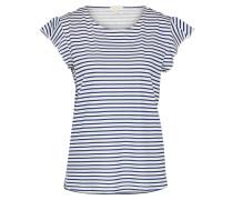 Shirt 'sg-038Ee1K016' navy / weiß